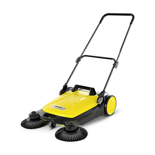 Karcher 17663610 S 4 Twin Push Sweeper, Yellow