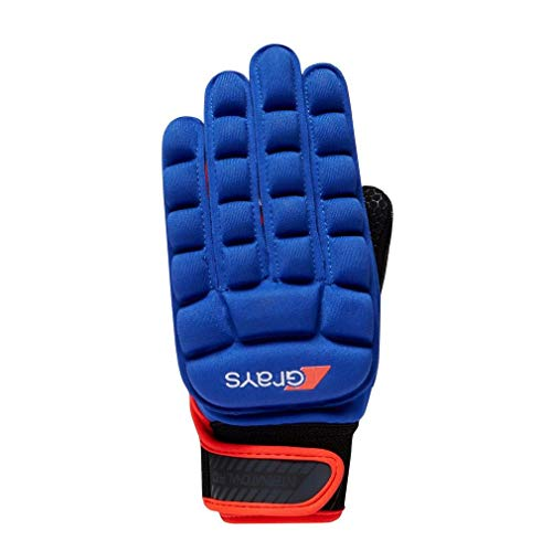 GRAYS International Pro Eishockeyhandschuh, Marineblau, Kinder L