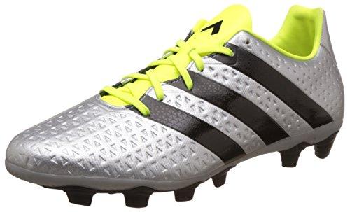 adidas Ace 16.4 FxG, Botas de fútbol Hombre, Plata (Plamet/Negbas/Amasol), 42 2/3 EU