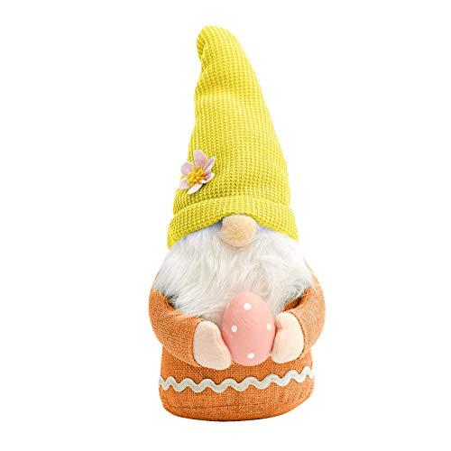 MJGkhiy Ostern Hasen Deko Gesichtslose Puppe Dekoration Gnomes Ornamente, Osterhase Plüschpuppen Zwerg Gesichtslose Puppe Dekoration Home Dekorationen