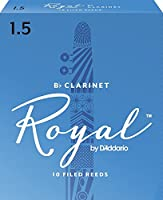 CAムAS CLARINETE - Rico Royal By DエAddario (Caja Azul) (Dureza 1 ス) (Caja de 10 Unidades)
