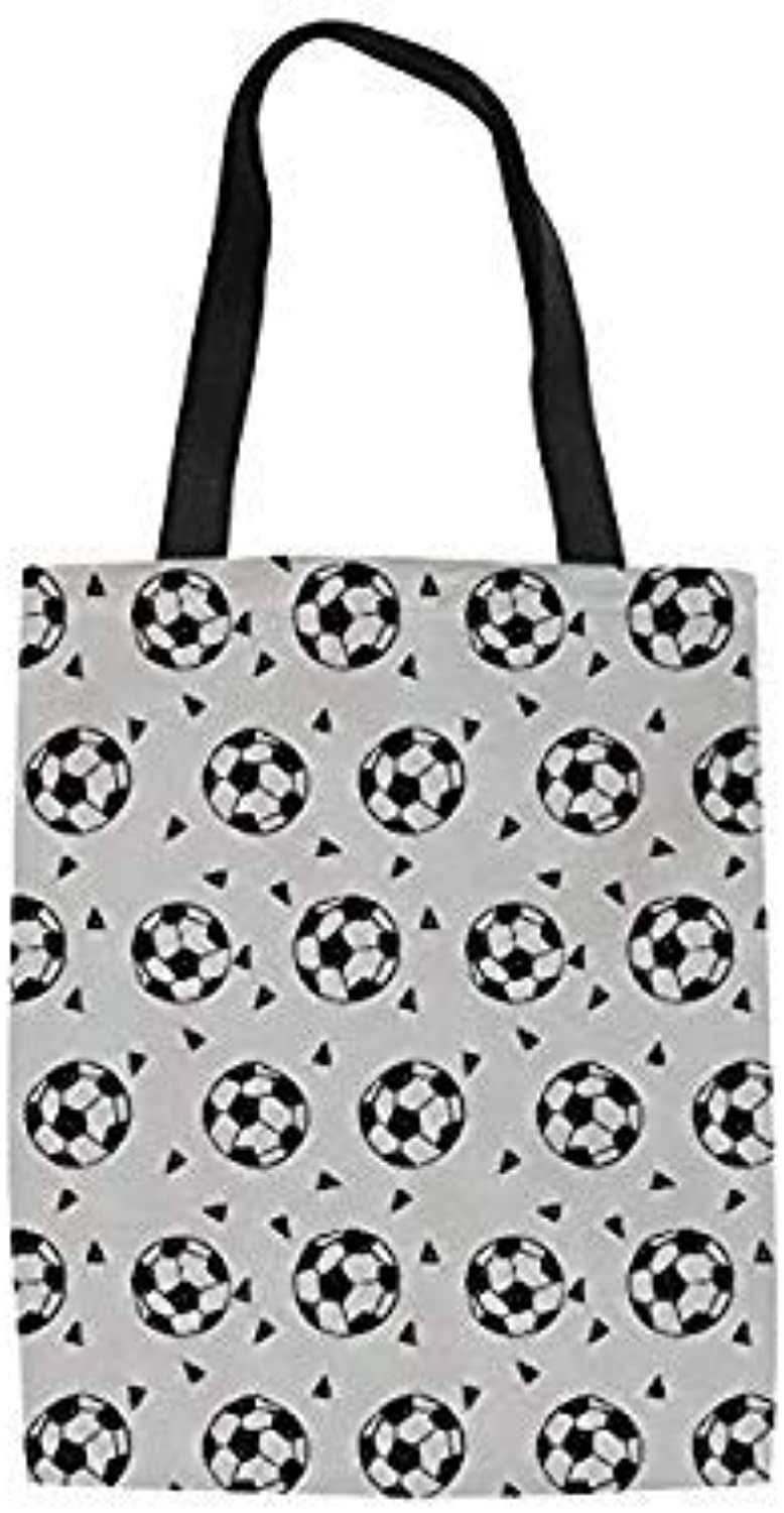 Uniqus THIKIN Ball Printed Eco-Friendly Totes Casual Women's Shopping Bag Casual Travel Shoulder Pack for Girls Reusable Canvas Handbag color YQ1241Z22 34X42X1.5cm