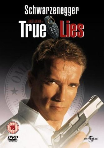 True Lies - Tom Arnold as Albert Gibson; Arnold Schwarzenegger as Harry Tasker; Jamie Lee C DVD