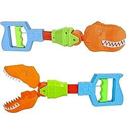 5. ArtCreativity Dino Robot Hand Grabber (Set of 2)