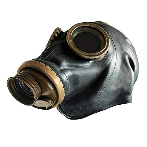 Eosphorus Russian Gas Mask GP-5 (Black, Mask Only) - Post-Apocalyptic Cosplay Costume USSR Soviet Times Movie Making (XXL)