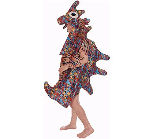 Multikleuren Zeepaardje kostuum voor volwassenen