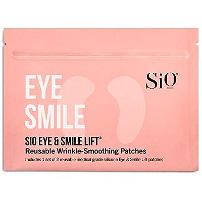 SiO Beauty Eye & Smile Lift | Eye & Smile Anti-Wrinkle Patches 2 Week Supply | Overnight Smoothing Silicone Patches For Eye & Smile Wrinkles And Fine Lines, Beige Eye & Smile Lift (2 Pad Pack) by SiO Beauty