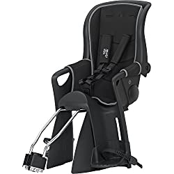 Britax Römer child bike seat 9 months - 5 years I 9 - 22 kg I JOCKEY RELAX group 2/3 I Black / Gray
