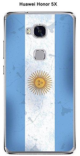 Onozo Carcasa Bandera Argentina Vintage para Huawei Honor 5 X