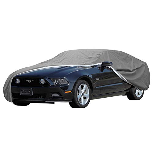 OxGord Signature Car Cover - 100 Water-Proof 5 Layers - True Mastepiece - Ready-Fit Semi Glove Fit -...