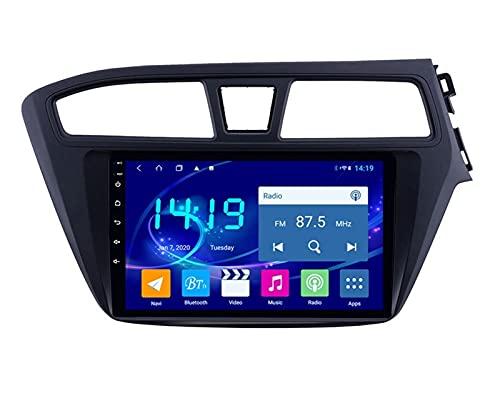 ZBHWYD Adatto per 15-18 Hyundai I20 Retto Peptide Reverse Image Android Car Dvd Navigator, Android 10 8 Core 4 + 64g Autoradio Auto Radio Multimedia Player GPS Navigazione GPS
