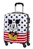 American Tourister Disney LegendsSpinner S, Equipaje infantil, 55 cm, 36 L, Multicolor (Mickey Dots)