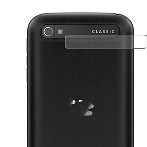 Vaxson 2 Stück Schutzfolie, kompatibel mit BlackBerry Classic Kamera TPU Folie Rückseitige Kameraobjektiv [nicht Panzerglas Bildschirmschutzfolie Hülle Hülle ]