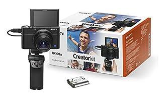 Sony RX100 III Creator Kit | Premium-Kompaktkamera mit Aufnahmegriff VCT-SGR1 (1.0-Typ-Sensor, 24-70 mm F1.8-2.8 Zeiss-Objektiv und neigbares Display für Vlogging) (B07JHSDV2S) | Amazon price tracker / tracking, Amazon price history charts, Amazon price watches, Amazon price drop alerts