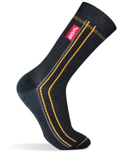 Saint Jacomo Erwachsene Socken, Unisex, Jeans', Schwarz, Gr.37-40EU