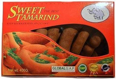 Natcha - Sweet Tamarind - Tamarindo Dulce - Seleccion Natural Producto de Tailandia - 450 Gramos