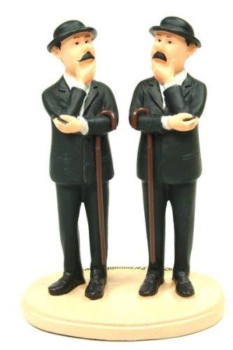 Figur Schulze & Schultze aus der Serie Tim & Struppi TINTIN & Milou