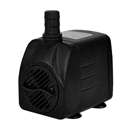 ZREAL 12/V Pompe submersible 840L//H High Flow Pompe pour bassin ou aquarium