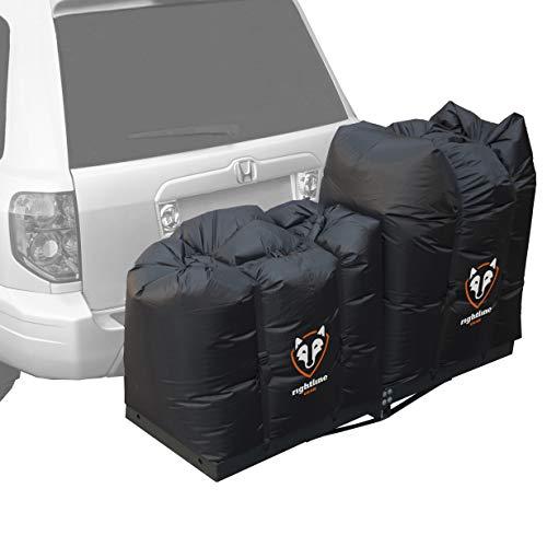 Rightline Gear 100T62 Rightline Gear Hitch Rack Dry Bags, Black, 100% Waterproof - Set of (2)