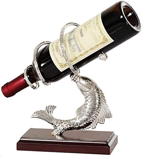 Componente de muebles, moderno, independiente, estante para botellas de vino, encimera, simple, soporte de exhibición de vino, decoraciones interiores, portátil, moderno, diseño minimalista para am