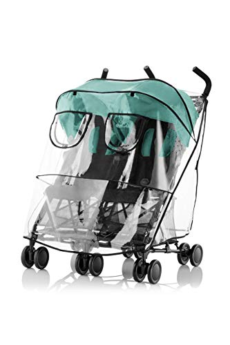Britax Römer Original Zubehör I HOLIDAY DOUBLE Regenverdeck I Transparent