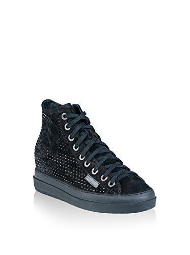 Ruco Line Sneaker Alta 2212 Strass Sonia Nero EU 40
