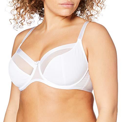 Pour Moi Viva Luxe Bra, 36HH, White