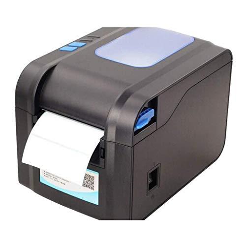 SCDFDJ Blanc Couleur Thermique Imprimante Thermique directe Commercial Haute Vitesse Port USB Étiquette Writer Machine