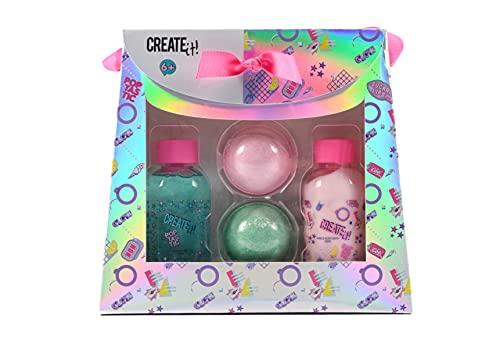 CREATE IT- Estuche de baño, Multicolor (CANENCO 84415)
