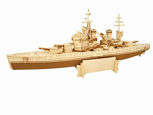 Quay HMS Prince of Wales artesanía en Madera Kit de construcción