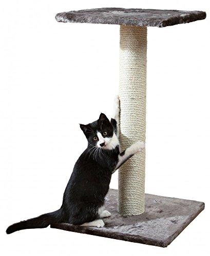 Albero per Gatto con Graffiatoio Cuccia Giocattolo Gatti Parco Giochi Tiragraffi in Sisal Naturale 69 x 40 x 40 cm (Colore Grigio Miro 30083)