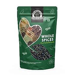 Wonderland Foods Whole Black Pepper (Kali Mirch) 250 Grams (Whole Spices)