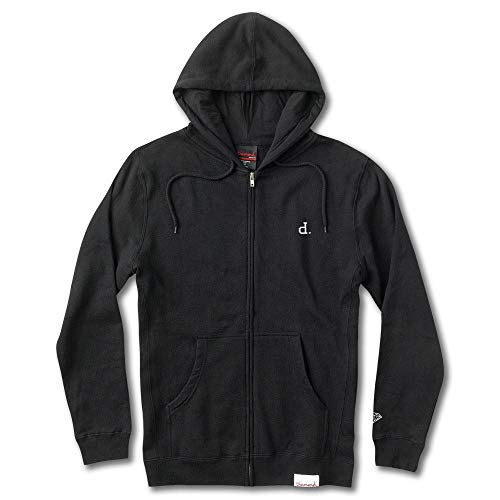 Diamond Supply Co. Mini Un Polo Zip Hoodie Black