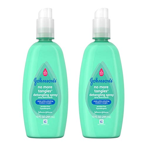 Johnson's Buddies No More Tangles Hair Detangler For Kids, 10 Fl. Oz. (Pack of 2)