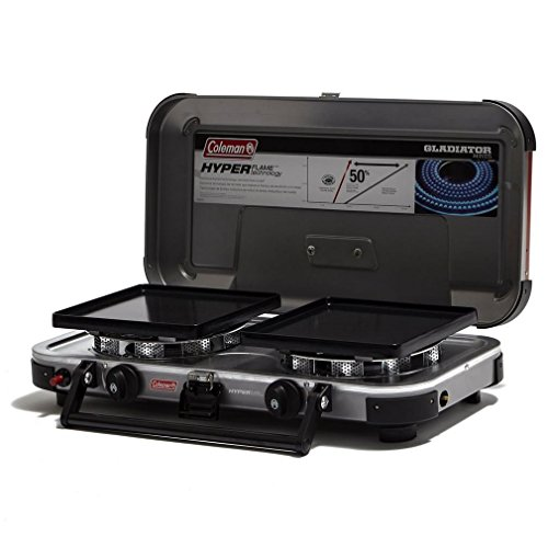 COLEMAN FYRE CHAMPION DOUBLE BURNER PROPANE (FUEL NOT INCLUDED)