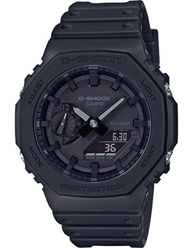 Casio G-Shock GA-2100-1A1 - Ana-Digi con protector de núcleo de carbono