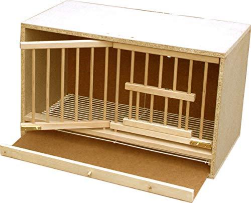 Habee GmbH - Paloma con suelo de alambre y cajón para excrementos