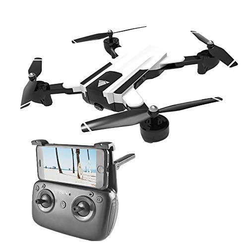 HAHA Drone, Drone con Cámara HD, Quadcopter WiFi,Avión Radiocontrol con Follow Me, 120º Gran Angular, Control Remoto, Altitude Hold, Modo Sin Cabeza