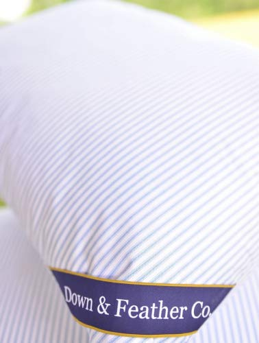 Original Extra Firm Hungarian Goose Feather Pillow Standard Size 20' x 26'. 220 Thread Count 100%...