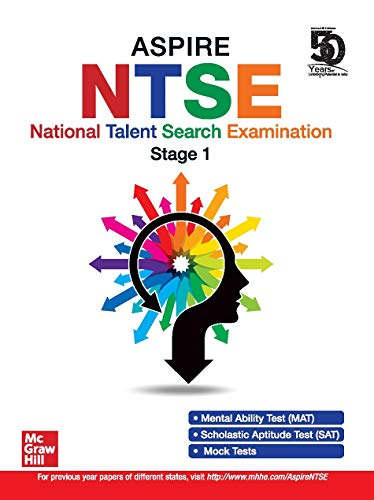 Aspire NTSE for Class X   National Talent Search Examination - Stage 1   For Paper 1 (MAT) and Paper 2 (SAT)
