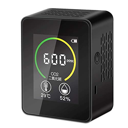 Elikliv Medidor de CO2, Detector Inteligente de Calidad del Aire para Contenido de Concentración de CO2, Analizador de Calidad de Aire de Temperatura y Humedad 🔥