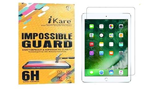 iKare Flexible Unbreakable Impossible Fiber Film Screen Guard. [ Not a Tempered Glass ] Screen Protector for Apple iPad 2nd Gen- TRANSPARENT
