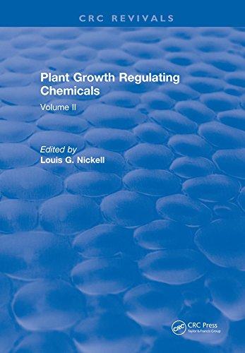 Plant Growth Regulating Chemicals: Volume I (English Edition)