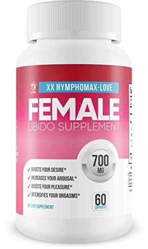 NymphoMax Love - Libido Boost - Female Drive Support - Yohimbe & and Blend of Proprietary Natural Ingredients to Support Female Function - Feel Youthful Drive and Energy - Youthful Hormones