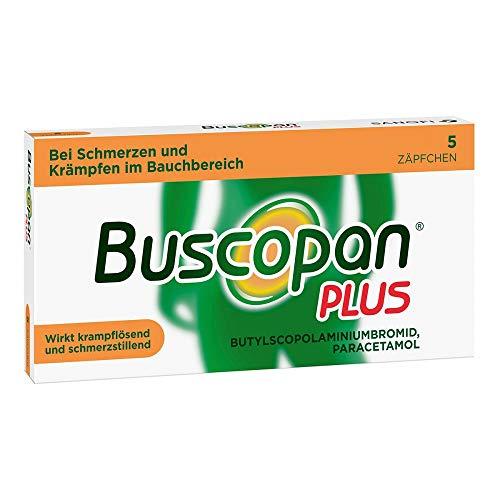 Buscopan PLUS Zäpfchen mi 5 stk