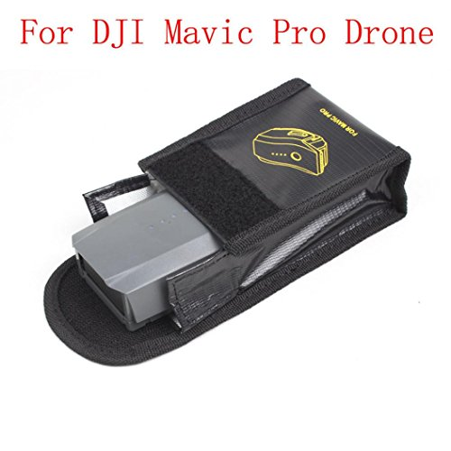 GBSELL Battery Fireproof Explosionproof Storage Bag Case Safety For DJI Mavic Pro