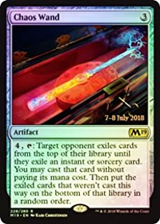 Magic: The Gathering - Chaos Wand - Foil - Prerelease Promos