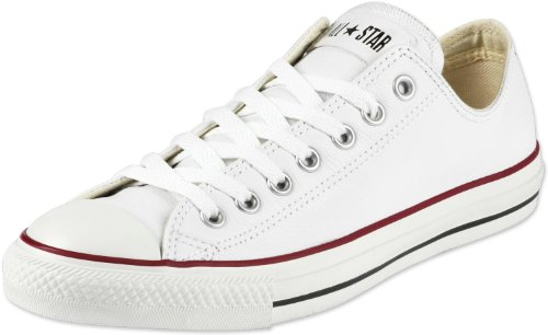 Converse Chuck Taylor All Star Ox Weiß Leder
