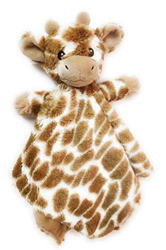 LIBLER Giraffe Baby Security Blanket, Loveys for Babies 15 inches, Plush Baby Blanket, Animal Baby Blanket, Animal Blankets for Babies, Security Blankets for Babies, Baby Blankets Unisex