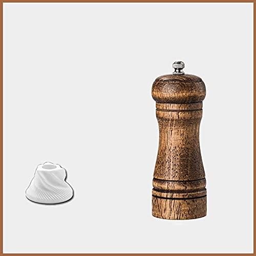 Molinillo de Sal y Pimienta Coctelera Retro Tornillo de Mano Protección del Medio Ambiente Herramienta de Cocina para el hogar Pimienta Pimienta Sal Marina Molinillo en Polvo Regalos de Cocina